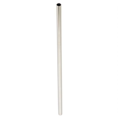 50 x Stainless Steel Drinking Straws (6mm x 215mm) STRAIGHT